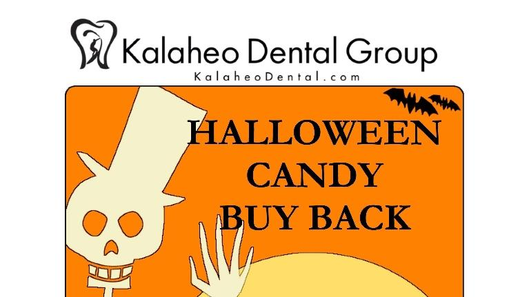 Halloween Candy Buy Back | Kalaheo Dentist